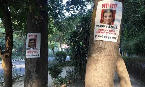 दिल्ली में बीजेपी सांसद गंभीर के लगे लापता के पोस्टर, लिखा- आखिरी बार इन्हें इंदौर में जलेबी खाते देखा