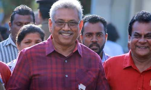 श्रीलंका के राष्ट्रपति चुनाव में गोताबेया राजपक्षे की जीत दर्ज