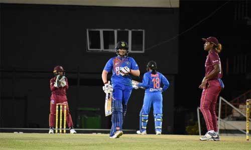 इंडियन वीमेन क्रिकेट टीम ने चौथे टी-20 में वेस्टइंडीज को 5 रन से हराया