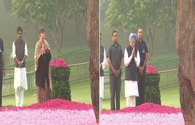 पूर्व प्रधानमंत्री इंदिरा गांधी को देश ने किया याद