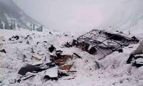 सियाचिन : 19 हजार फीट की ऊंचाई पर हुए हिमस्खलन में 4 जवान शहीद, 2 पोर्टरों की भी मौत