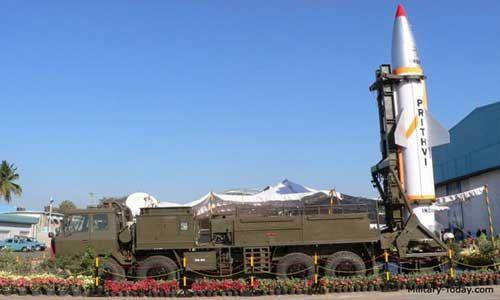 दो पृथ्वी बैलिस्टिक मिसाइलों का सफलतापूर्वक परीक्षण, 300 किमी है मारक क्षमता