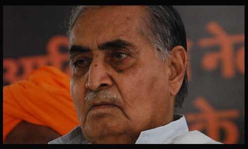 मध्य प्रदेश के पूर्व मुख्यमंत्री कैलाश जोशी का निधन