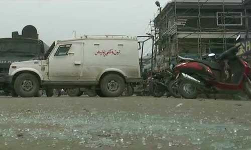 कश्मीर यूनिवर्सिटी के मेन गेट पर ग्रेनेड हमला, चार घायल