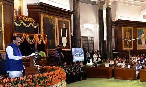 भारत का संविधान विश्व का सबसे विस्तृत लिखित संविधान और एक जीवंत दस्तावेज है : वेंकैया नायडू