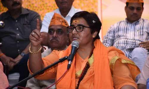 प्रज्ञा ठाकुर ने कांग्रेस विधायक को दी चुनौती, कहा - 8 दिसंबर को घर आ रही हूं, जला लेना