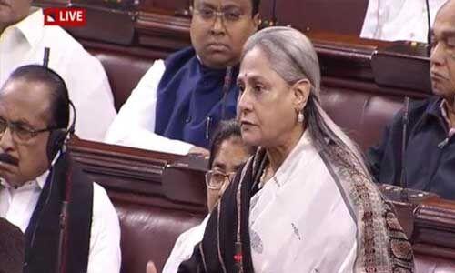 संसद में बोलीं जया बच्चन, आरोपियों को बाहर लाकर जनता के हवाले कर देना चाहिए