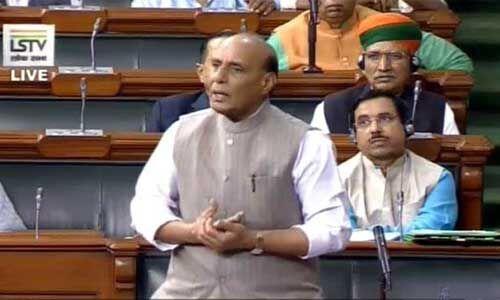 हैदराबाद रेप मर्डर केस की संसद में गूंज, रक्षामंत्री बोले- सभी आरोपियों को कठोर से कठोर सजा होनी चाहिए