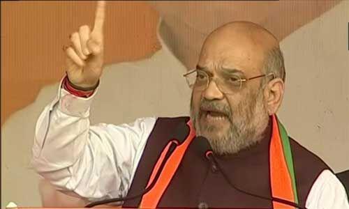 भाजपा सरकार पूरे देश में NRC लागू कर घुसपैठियों को चुन-चुन कर निकालेगी : शाह