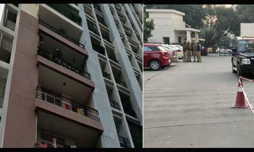 इंदिरापुरम में 2 बच्चों का गला घोंट 8वीं मंजिल से कूदे दंपती