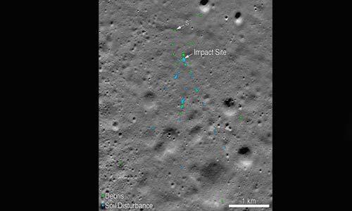 भारतीय इंजीनियर की मदद से नासा ने चंद्रयान -2 के विक्रम लैंडर के मलबे का लगाया पता