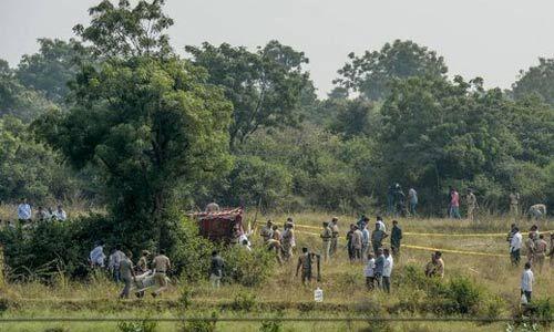 हैदराबाद एनकाउंटर में मारे गए एक आरोपी के पिता बोले - मेरे बेटे को मारा तो सारे रेपिस्टों को मारे पुलिस