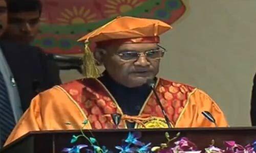 डॉक्टर्स को किसी की जाति-धर्म को नहीं देखना चाहिए : राष्ट्रपति रामनाथ कोविंद