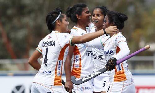 भारतीय जूनियर महिला हॉकी टीम ने न्यूजीलैंड को हराया