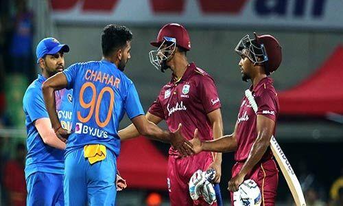 वेस्टइंडीज ने भारत को 8 विकेट से हराया, सीरीज में की बराबरी