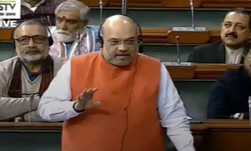 रोड से लेकर संसद तक प्रदर्शनों के बीच गृहमंत्री ने संसद में नागरिकता संशोधन बिल किया पेश