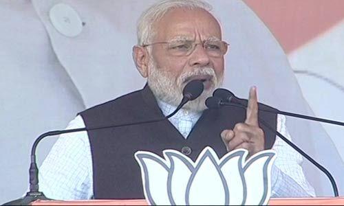 झारखंड में PM नरेंद्र मोदी बोले - कर्नाटक के लोगों ने कांग्रेस को सिखाया सबक