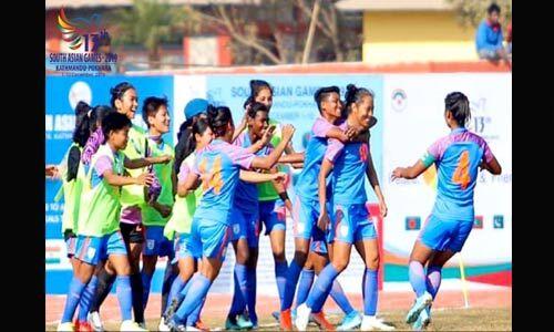 सैग 2019 : भारतीय महिला फुटबॉल टीम ने तीसरी बार जीता स्वर्ण पदक