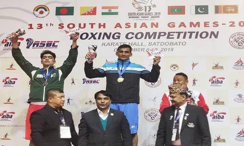 बॉक्सिंग में मप्र अकादमी के गौरव चौहान ने देश को दिलाया स्वर्ण पदक