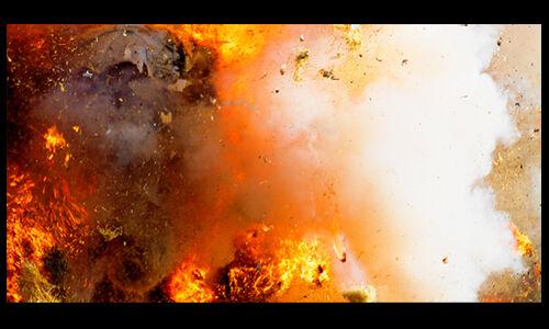 बड़गाम के तोशा मैदान में विस्फोट, तीन लोग घायल