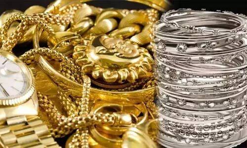 सोना 48000 के करीब पहुंचा, चांदी में 2480 रुपये की उछाल