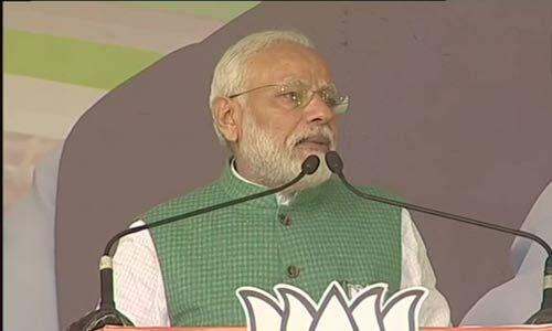 कांग्रेस के पास झारखंड के विकास का रोडमैप तक नहीं है : पीएम मोदी