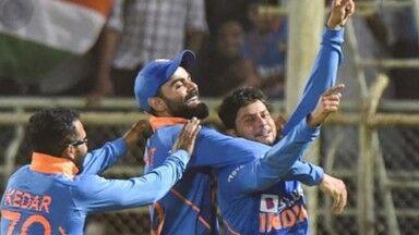 भारत ने विंडीज को 107 रनों से दी मात, सीरीज 1-1 से बराबर