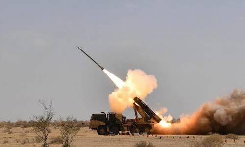 पिनाक मिसाइल प्रणाली का सफल परीक्षण