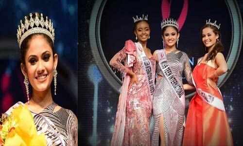 आयुषी ढोलकिया ने मिस टीन इंटरनेशनल 2019 का जीता खिताब