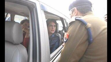 राहुल और प्रियंका गांधी को मेरठ जाने से रोका