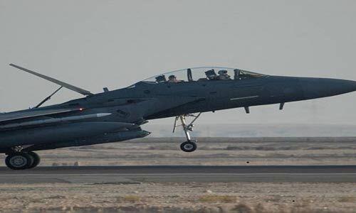 यूएसए एफ-15 विमानों ने इराक और सीरिया में बरसाए गोले
