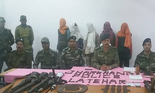 झारखंड में टीपीसी के सब जोनल कमांडर समेत 5 नक्सली गिरफ्तार