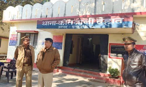बलरामपुर में मामूली विवाद के दाैरान पड़ोसी ने किशोरी को जिंदा जलाया