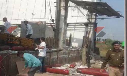 गुजरात में ऑक्सीजन सिलेंडर फैक्टरी में धमाका, 6 मजदूरों की मौत