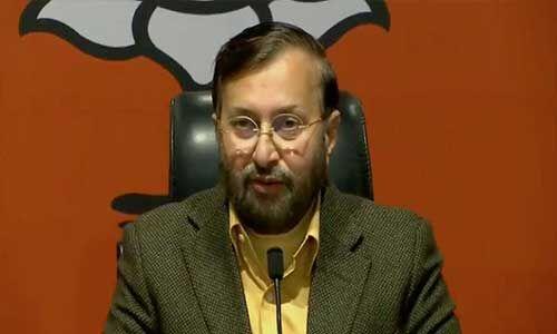 सिख नरसंहार के दोषियों पर कांग्रेस ने नहीं की कोई कार्रवाई : जावड़ेकर