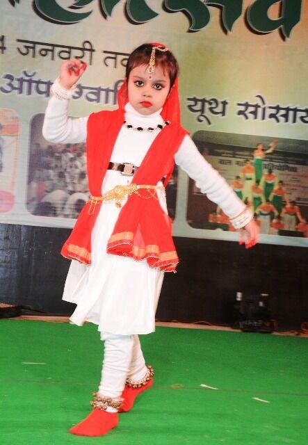 ग्वालियर मेला : बच्चों ने डांस कर दर्शको का मन मोहा