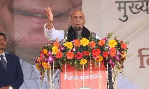 सीएए, एनपीआर और एनआरसी पर कांग्रेस समेत विपक्षी दल भ्रम फैलाने में लगे हैं : राजनाथ