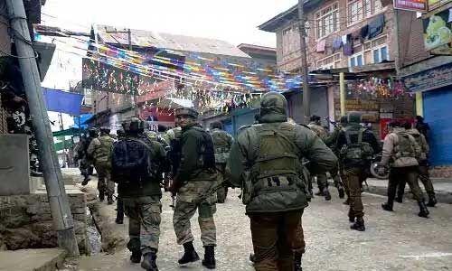 26 जनवरी के मद्देनजर बढ़ाई गई जम्मू-कश्मीर में सुरक्षा