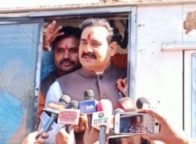 जबलपुर: सरकार के खिलाफ बीजेपी का प्रदर्शन, पूर्व मंत्री मिश्रा गिरफ्तार