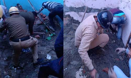 दिल्ली के सुभाष विहार में भीषण हादसा, कोचिंग सेंटर की बिल्डिंग गिरी, 5 मौत