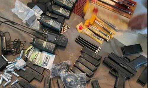 नगरोटा में मारे गए आतंकियों के पास से मिला पाक में बने हथियारों का जखीरा