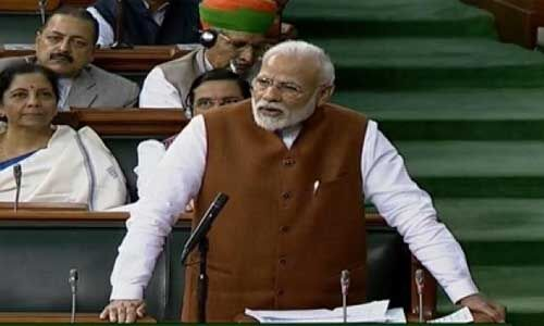 संसद : अगर आपकी तरह सोचते तो आर्टिकल 370 नहीं हटता - पीएम मोदी
