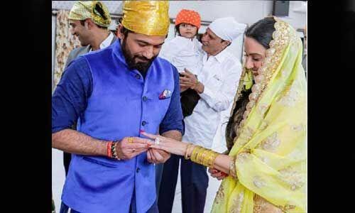टीवी एक्ट्रेस काम्या पंजाबी ने बॉयफ्रेंड से की सगाई, शुरू हुई शादी की रस्में