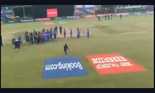 U19 विश्व कप के फाइनल में बांग्लादेशी खिलाड़ियों ने इंडियन टीम के साथ किया दुर्व्यवहार