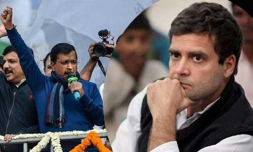 दिल्ली विधानसभा चुनाव में AAP की जोरदार वापसी, कांग्रेस के लिए भारी निराशा