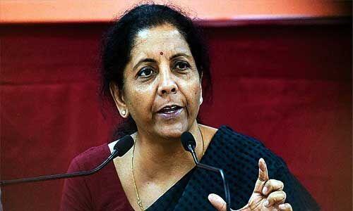निर्मला सीतारमण ने कहा - केंद्र सरकार ने 2022 तक किसानों की आय दोगुनी करने का रखा लक्ष्य