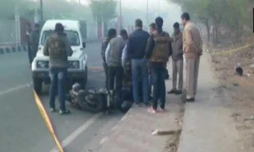 दिल्ली पुलिस ने मुठभेड़ मे दो बदमाशों को किया ढ़ेर