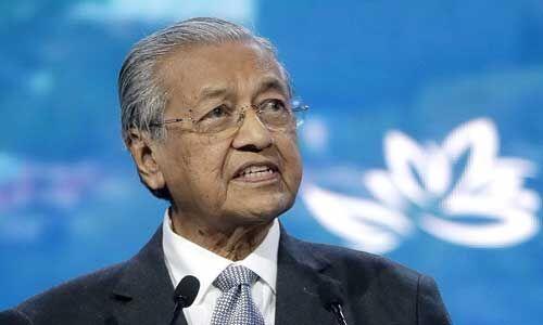 मलेशिया के प्रधानमंत्री महातिर मोहम्मद ने दिया इस्तीफा