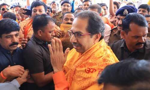 महाराष्ट्र के मुख्यमंत्री उद्धव ने की राममंदिर निर्माण के लिए 1 करोड़ रुपए देने की घोषणा