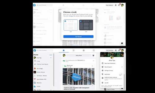 फेसबुक के नए डेस्कटॉप डिजाइन लेआउट का फर्स्ट लुक, देखें